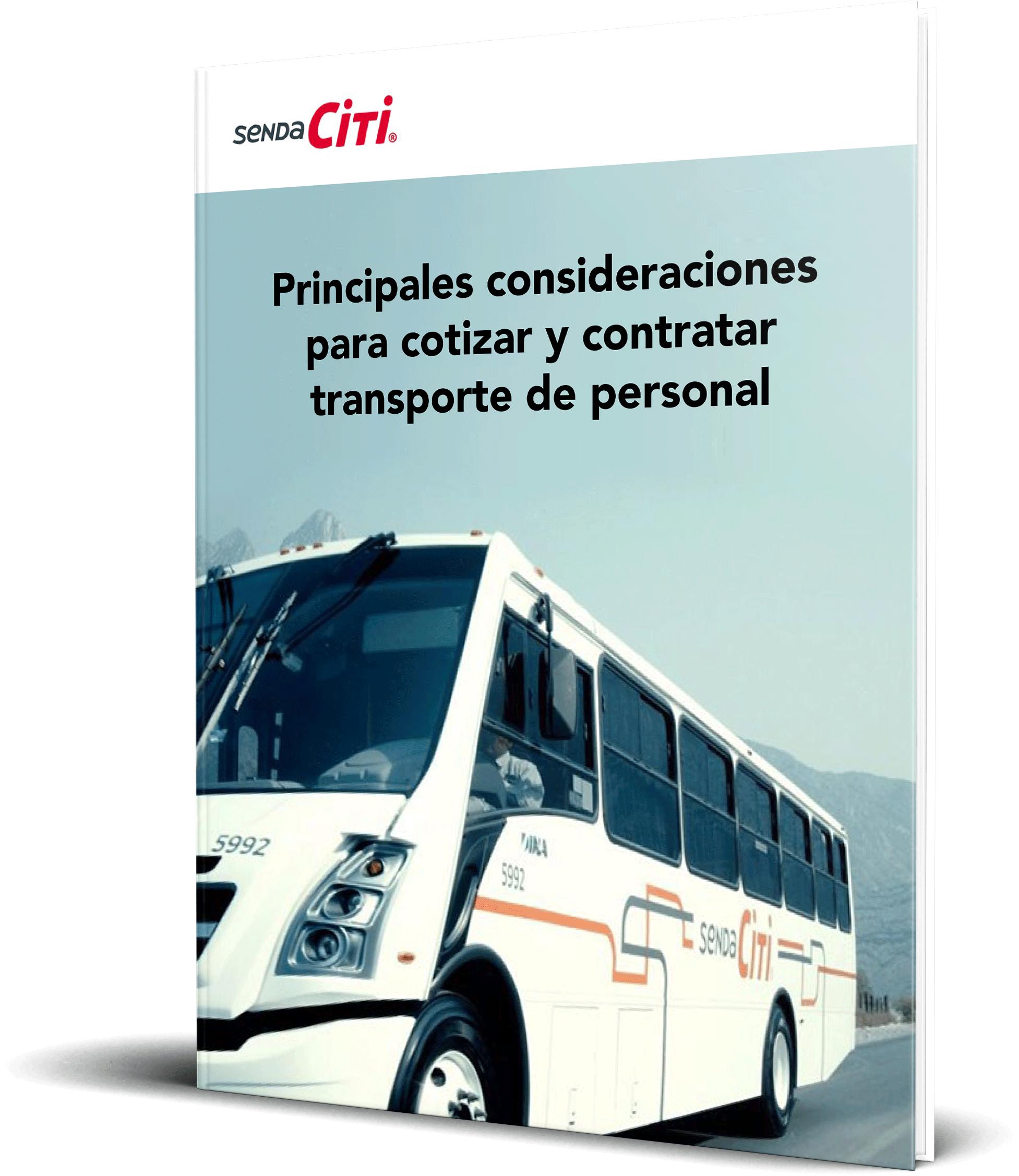 Principales consideraciones para cotizar y contratar transporte de personal